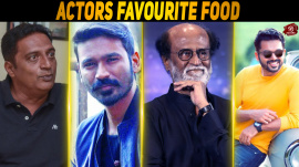 Tamil Actors' Favourite Food