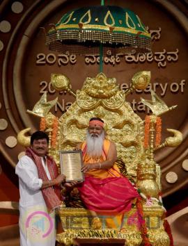 Rajendra Prasad Conferred Kalanidhi Award Pics