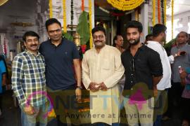Sri Hanuman Movie Makers Adhi Saikumar New Movie Pooja Stills Telugu Gallery