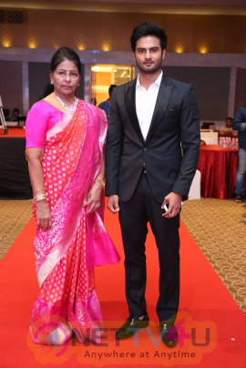 Sudheer Babu Productions Logo Launch Event Images