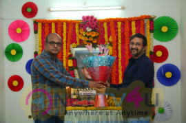 Viswamitra Movie Pooja Stills Telugu Gallery