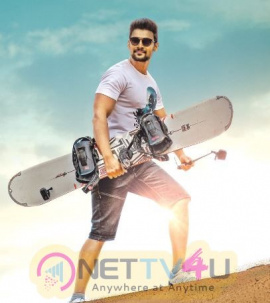 Saakshyam Audio  Announcement Poster