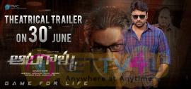 Aatagallu Theatrical Trailer Announcement Poster