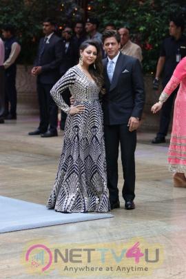 Akash Ambani And Shloka Mehta Engagement Party At Antalia In Mumbai Cute Images