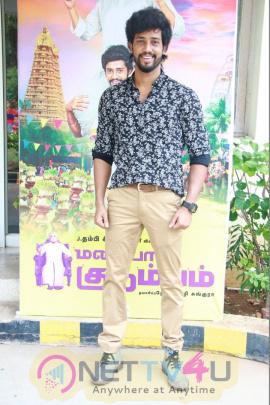 Maniyaar Kudumbam Movie Audio Launch Photos