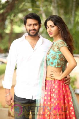 Na Love Story Telugu Movie Press Meet Stills  Telugu Gallery