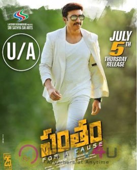 Pantham Movie Got  U/A Certificate Exclusive Images