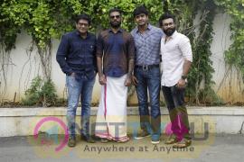 Ready To Shoot Movie Pooja Stills  Tamil Gallery