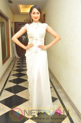Actress Pragya Jaiswal Cute Pics At Gunturodu Movie Audio Launch Telugu Gallery