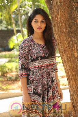 Actress Sunaina At Pelliki Mundu Prema Katha Trailer Launch