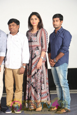 Pelliki Mundu Prema Katha Trailer Launch Stills