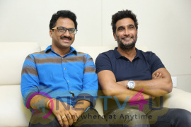 Bhaagamathie Movie Director & Art Director Interview Images