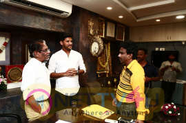 Padai Veeran Movie Trailer Launch By Director Bharathiraja Stills Tamil Gallery