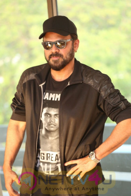 Actor Venkatesh Interview Grand Pics