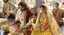 Sye Raa Narasimhareddy Movie Leaked Pics