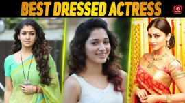 Best Dressed Actresses Of Kollywood