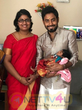 Actor Aari Child Name Function Stills  Tamil Gallery