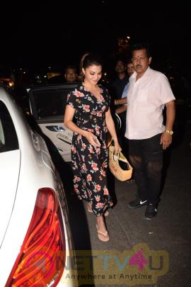 Jacqueline Fernandez Came To Pali Bhavan