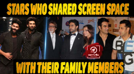 10 Bollywood Stars Who Shared Screen Space With Their Family Members