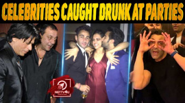 10 Celebrities Caught Drunk At Parties
