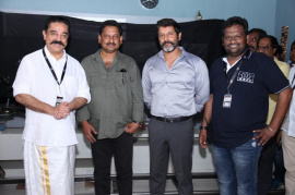Kadaram Kondan Movie Final Patch Work Completion Pics