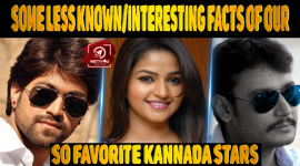 Some Less Known/Interesting Facts Of Our Favorite Kannada Stars