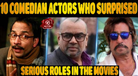 Top 10 Comedian Actors Who Surprised With Serious Roles In The Movies