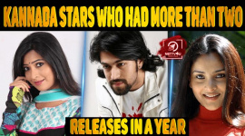 Top Kannada Stars Who Had More Than Two Releases In A Year