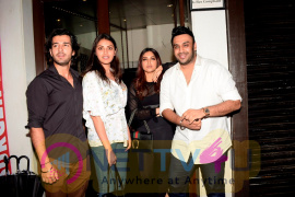 Bhumi Pednekar And  Vaani Kapoor Spotted At Bastian Restaurant In Bandra Best Images Hindi Gallery