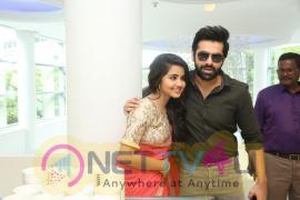 Vunnadi Okate Zindagi Movie Thanks Meet Photos Telugu Gallery