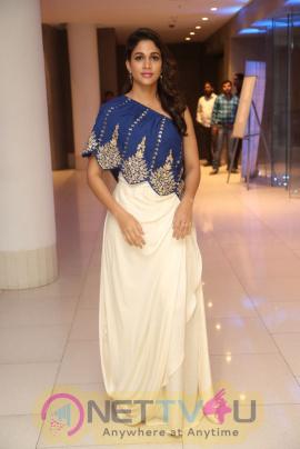 Actress Lavanya Tripathi At  Vunnadi Okate Zindagi Movie Thanks Meet Stills Telugu Gallery
