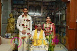 Chiyaan Vikram Daughter Marriage Photos Tamil Gallery