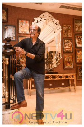 Superstar Rajinikanth Good Looking Stills