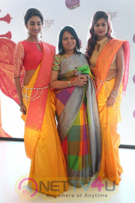 Palam Silks Launches Concert Collection Attractive Photos Tamil Gallery