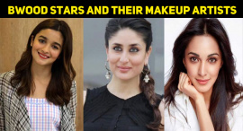 Top 10 Bollywood Stars And Their Makeup Artists