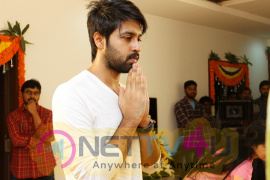 Chiranjeevi Son In Law Kalyaan Dhev Debut Film Launched Photos