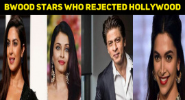 Top 10 Bollywood Stars Who Rejected Hollywood Movies