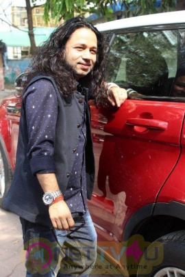 Song Launch Of 'Vote Do' For Movie Blue Mountains With Kailash Kher