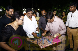 Honourable Governor Of Puducherry Ms.Kiran Bedi Launched Mathiyaal Vell Movie New Poster Tamil Gallery