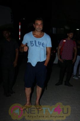 Salman Khan, Katrina Kaif, Saqib Saleem Came To Mehboob Studio