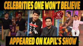 Top 10 Celebrities One Won't Believe Appeared On Kapil's Show