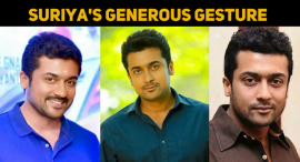 Suriya's Generous Gesture For The Entertainment Industry