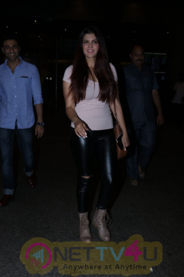 Ihana Dhillon Spotted At Airport Images