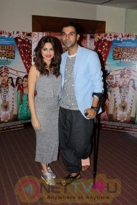 Rajkummar Rao & Kriti Kharbanda Talk About Film Shaadi Mein Zaroor Aana Photos Hindi Gallery
