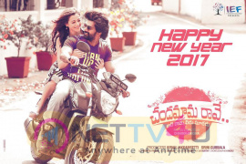 Chandamama Raave Movie New Year Wishes Posters
