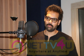 Actor Sibiraj In Ranga Movie Dubbing Images