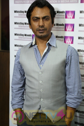 5th Veda Session With Nawazuddin Siddiqui At Whistling Woods International Institute Stills Hindi Gallery