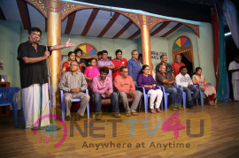 52nd successful stage show of ygm s soppana vazhvil event stills