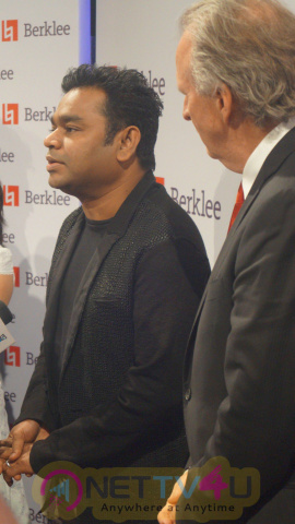 A. R. Rahman At Music Host The Berklee Scholarship Awards Event Photos Hindi Gallery
