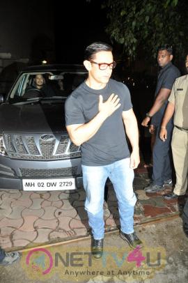 Aamir Khan At Screening Of Film Sultan At YRF Studio Dazzling Photos Hindi Gallery